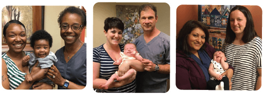 Our doctors love catching up with the babies they delivered -- and their patients, too!