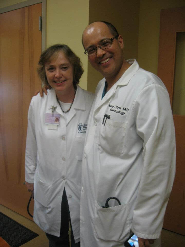 Susan and Dr. Litrel