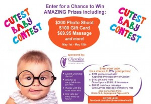 Cherokee Women's Health Cutest Baby Contest