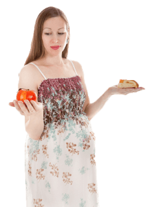 woman-choosing-food