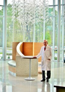 Dr. James Cross in the New Northside Hospital Cherokee Atrium