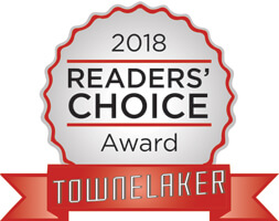 2018 Reader's Choice Award - Townelaker