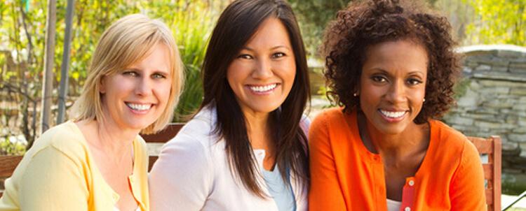 well woman diverse women