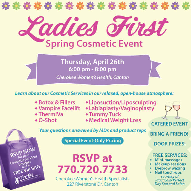 Cherokee Women's Spring Cosmetic-Event