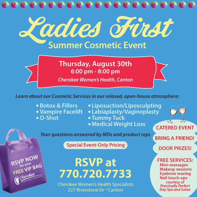 Ladies First Summer Cosmetic Event