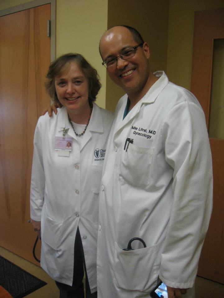 Susan and Dr. Litrel