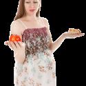 woman-choosing-food