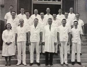 OB-GYN Residency Class at Grady Hospital Dr. James Cross