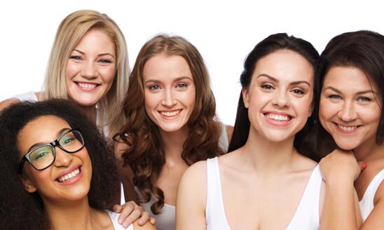 group of happy women photo