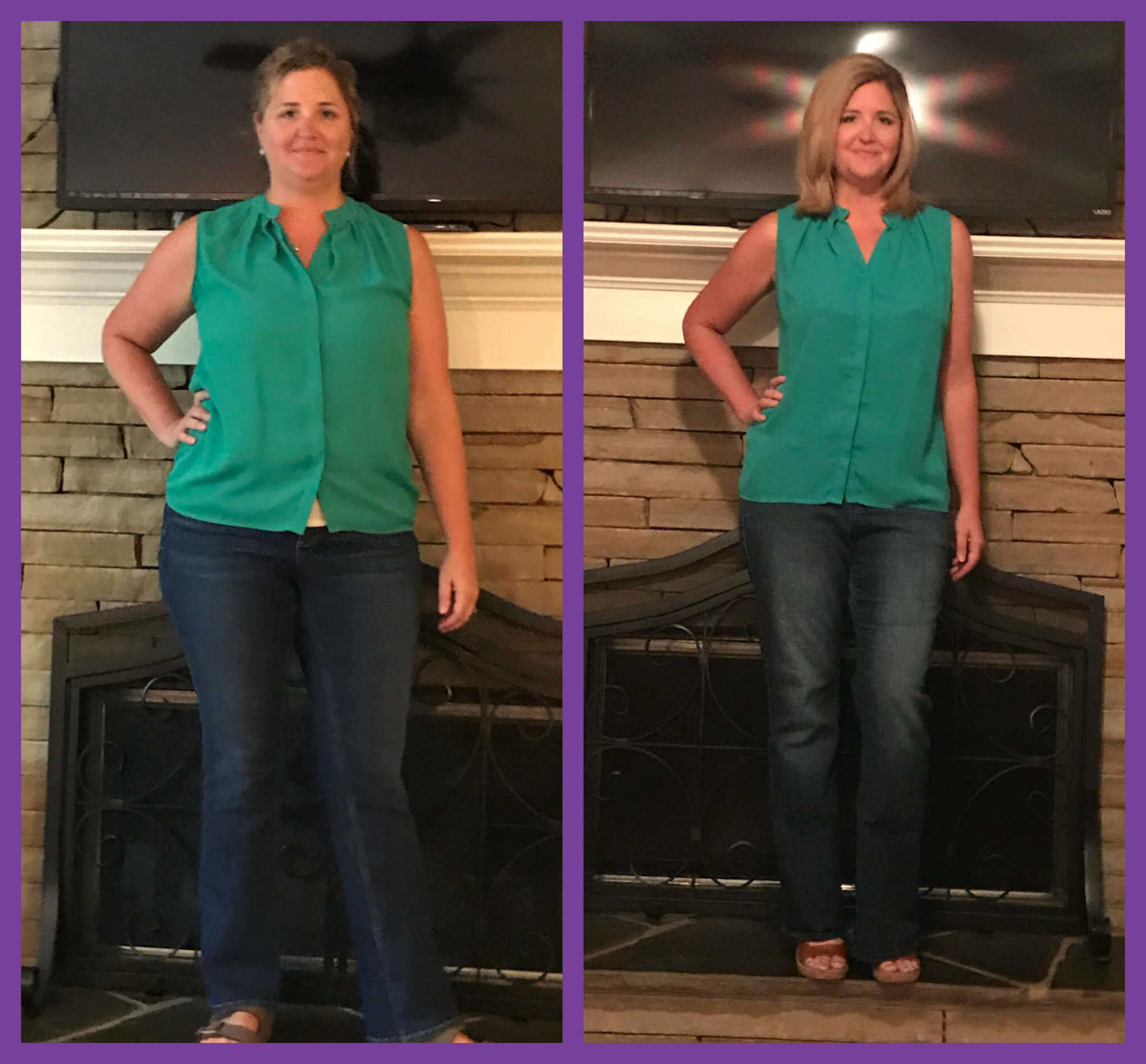 Christy Before And After Medical Weight Loss Cherokee Women S Health