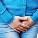 woman with bladder prolapse