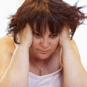 overweight woman with PCOS