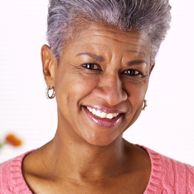 happy older woman photo