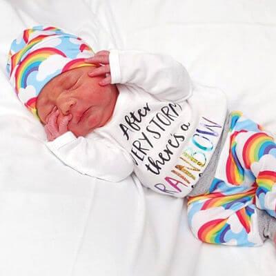rainbow baby samuel
