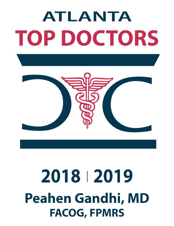 Atlanta Top Doctors Dr. Gandhi Award